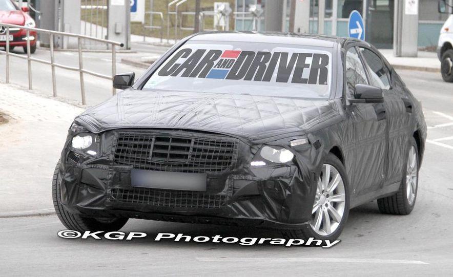 2014 Mercedes-Benz S-class (spy photo) - Slide 4