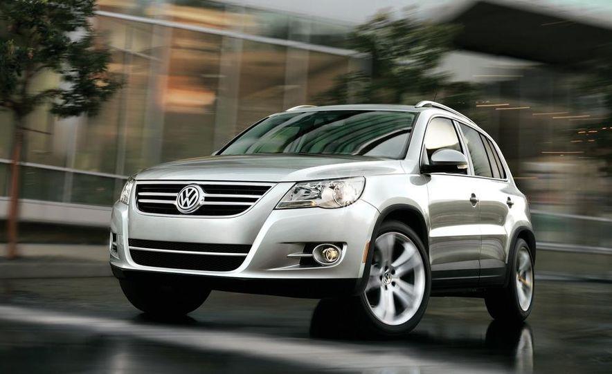2012 Volkswagen Tiguan (European spec) - Slide 7