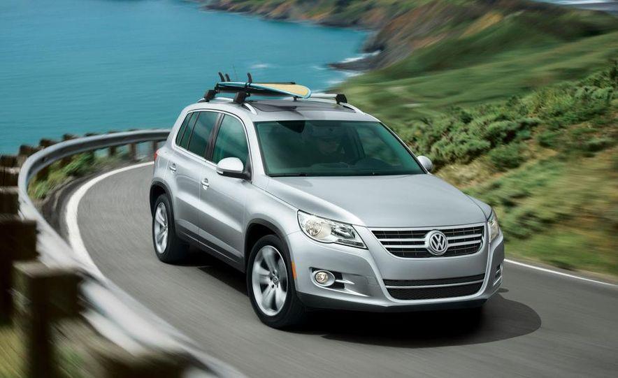 2012 Volkswagen Tiguan (European spec) - Slide 8