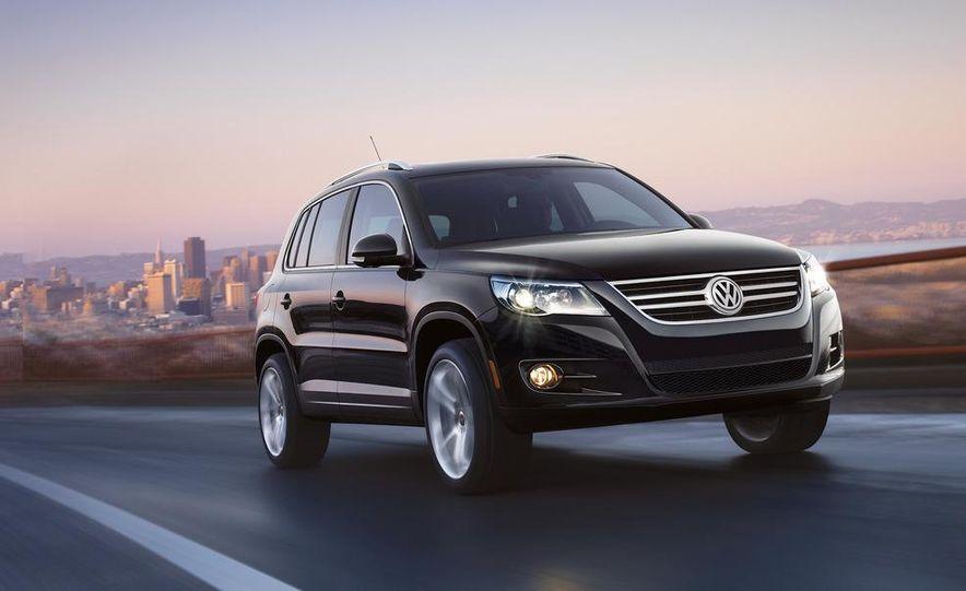 2012 Volkswagen Tiguan (European spec) - Slide 10