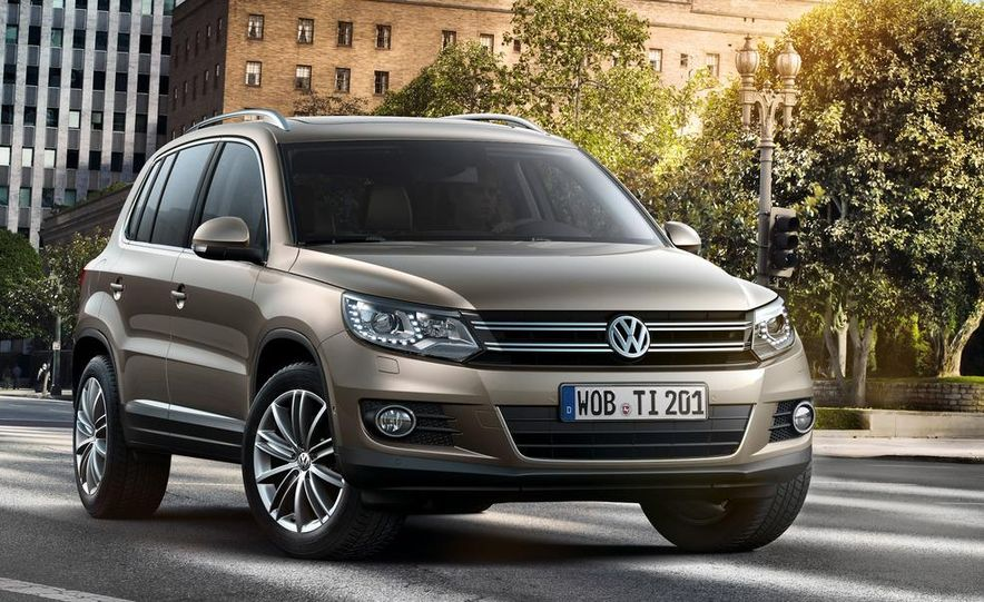 2012 Volkswagen Tiguan (European spec) - Slide 2