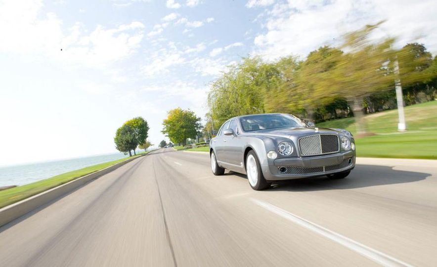 2012 Bentley Mulsanne - Slide 1