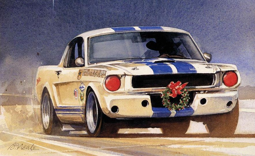 Bill Neale's Illustration of his replica GT350. - Slide 1
