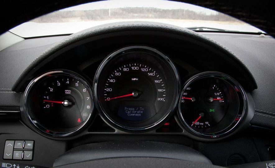 2011 Cadillac CTS-V wagon - Slide 44