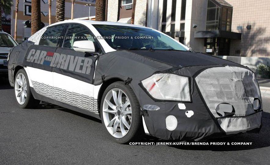 2012 Cadillac XTS / ETS (spy photo) - Slide 3