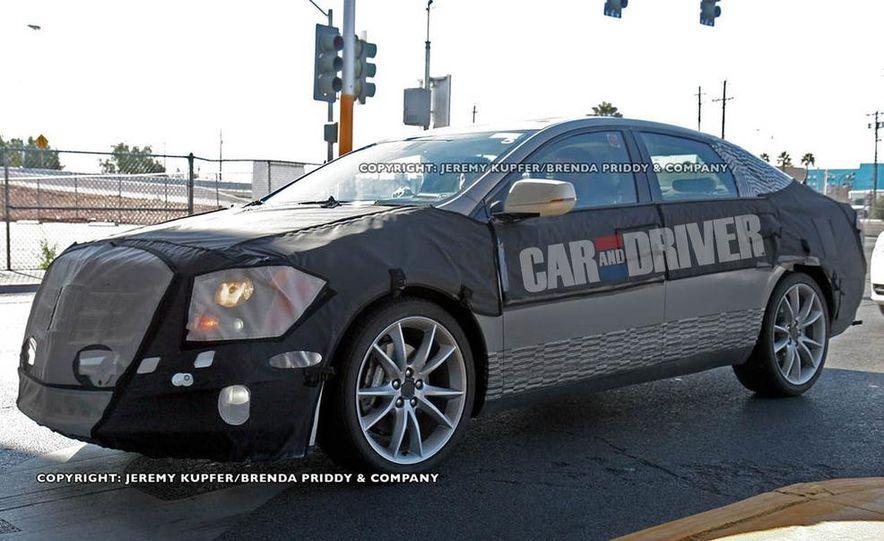 2012 Cadillac XTS / ETS (spy photo) - Slide 5