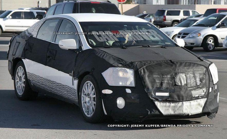 2012 Cadillac XTS / ETS (spy photo) - Slide 7