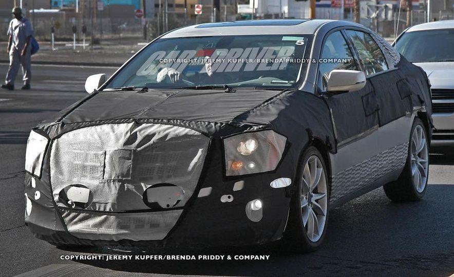 2012 Cadillac XTS / ETS (spy photo) - Slide 1
