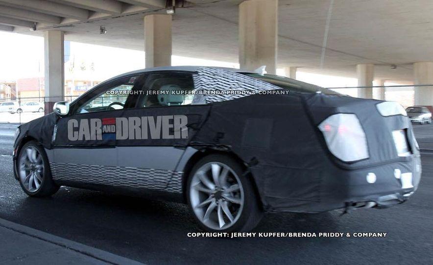 2012 Cadillac XTS / ETS (spy photo) - Slide 8