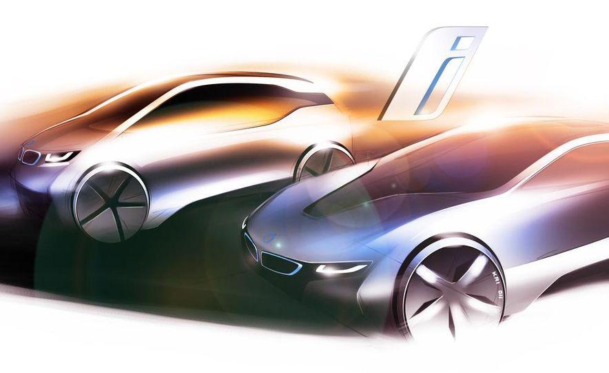 BMW i3 and i8 (artist's rendering) - Slide 1