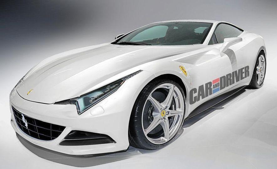 2013 Ferrari 599 replacement (artist's rendering) - Slide 1