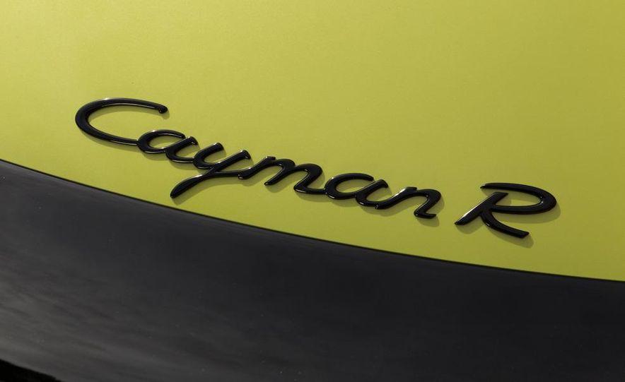 2011 Porsche Cayman R - Slide 52