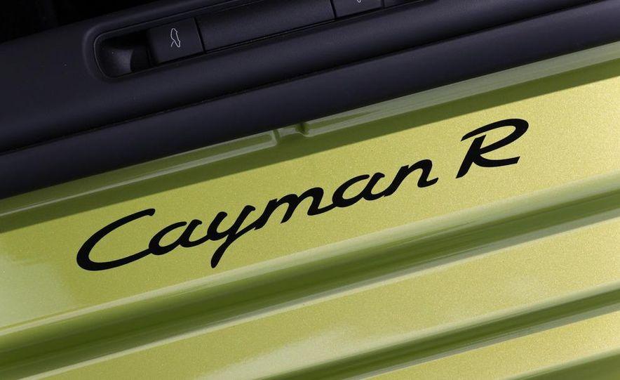 2011 Porsche Cayman R - Slide 62