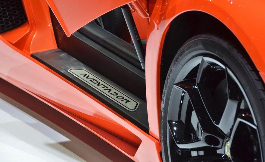 2012 Lamborghini Aventador LP700-4 - Slide 21