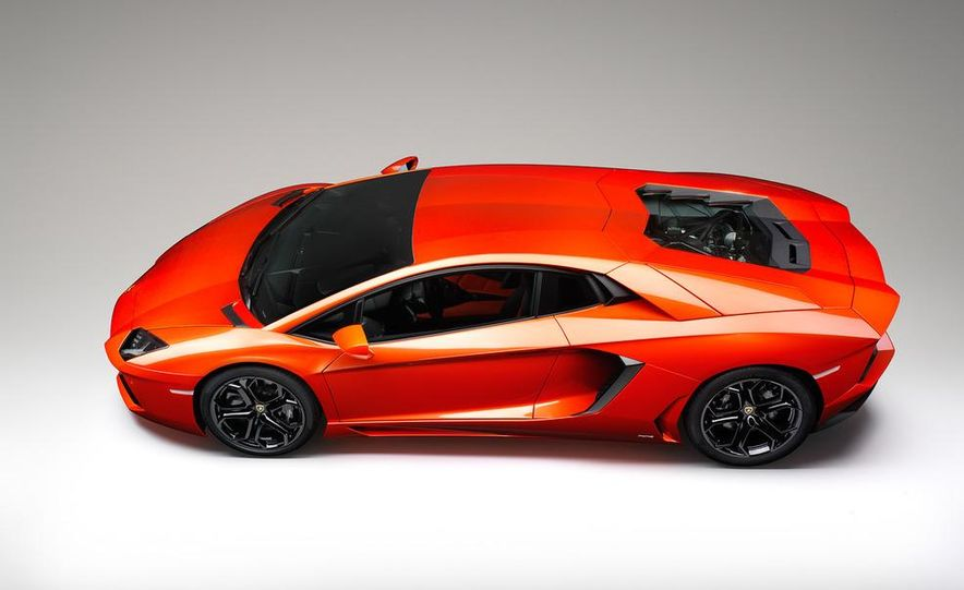 2012 Lamborghini Aventador LP700-4 - Slide 52