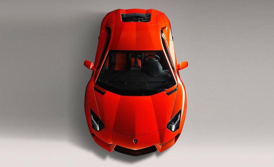 2012 Lamborghini Aventador LP700-4 - Slide 53