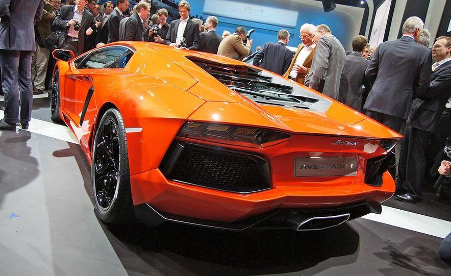 2012 Lamborghini Aventador LP700-4 - Slide 8
