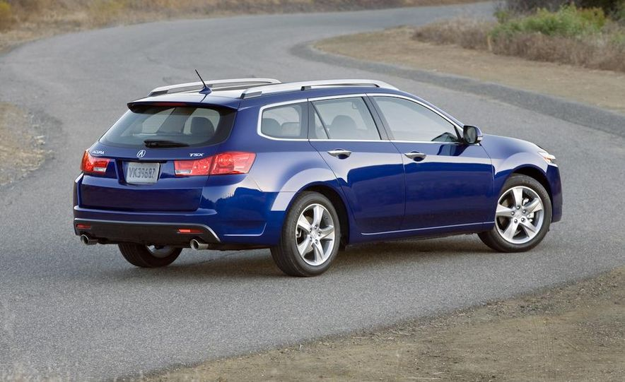 2011 Acura TSX Sport Wagon - Slide 29