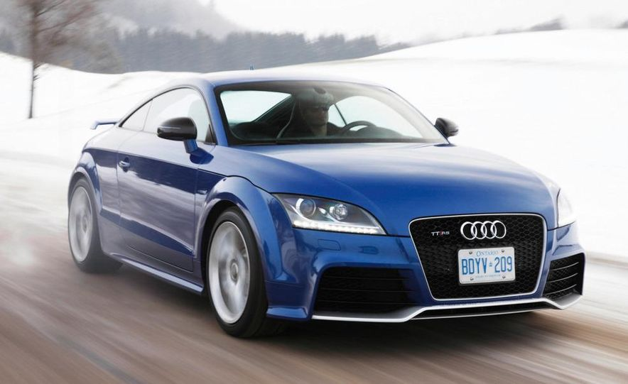 2012 Audi TT RS coupe (European spec) - Slide 1
