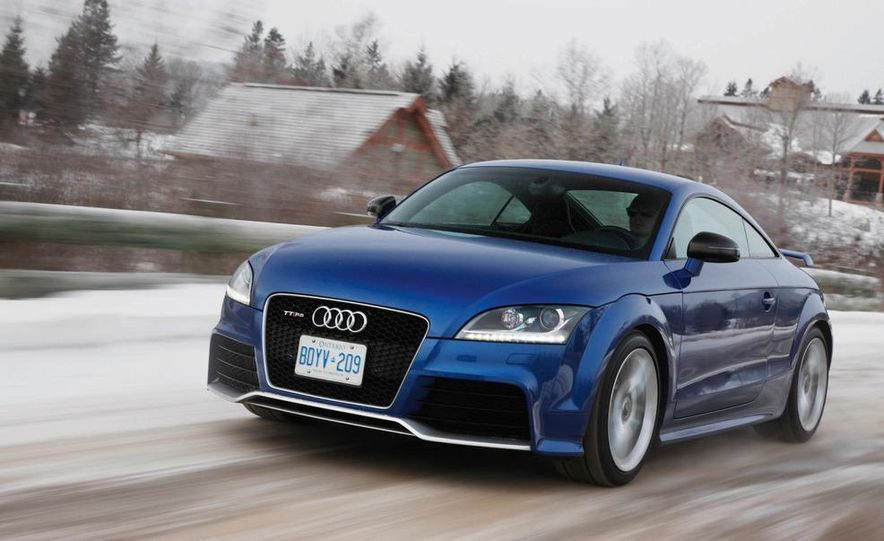 2012 Audi TT RS coupe (European spec) - Slide 2