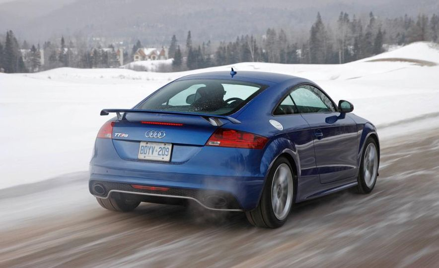 2012 Audi TT RS coupe (European spec) - Slide 3
