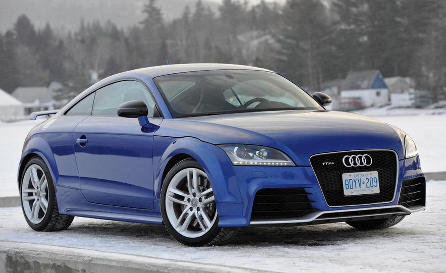 2012 Audi TT RS coupe (European spec) - Slide 4