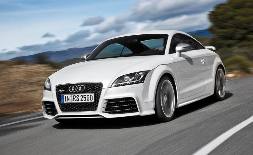 2012 Audi TT RS coupe (European spec) - Slide 6