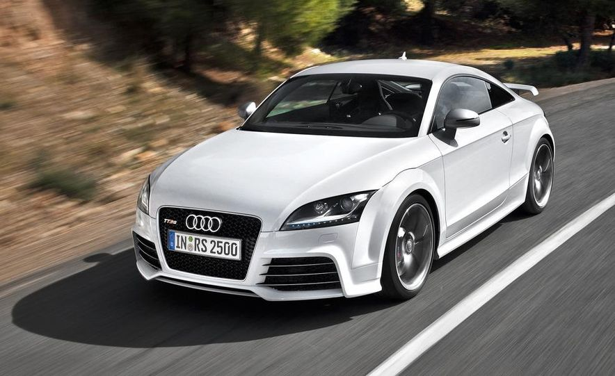 2012 Audi TT RS coupe (European spec) - Slide 7