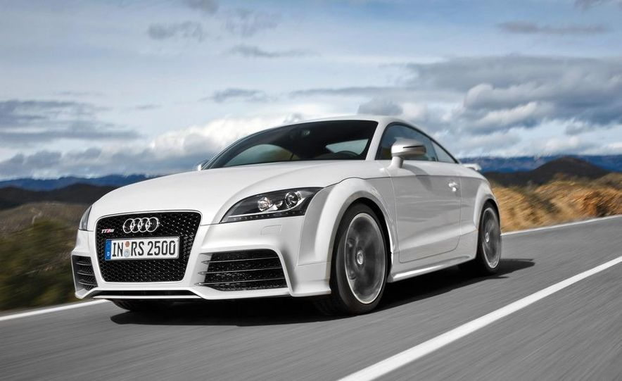 2012 Audi TT RS coupe (European spec) - Slide 8