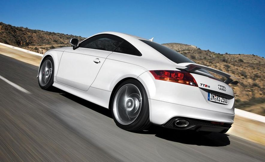 2012 Audi TT RS coupe (European spec) - Slide 9