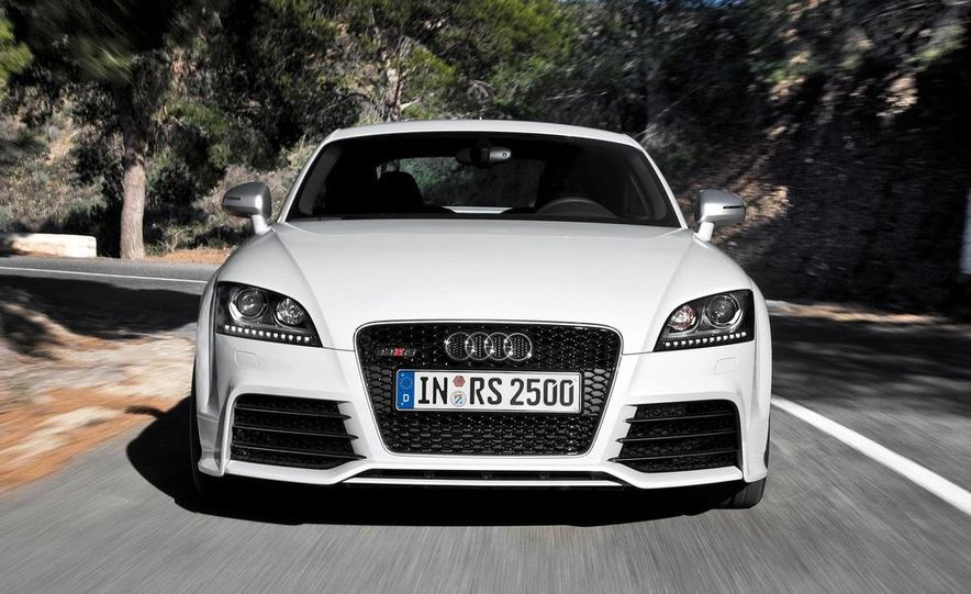 2012 Audi TT RS coupe (European spec) - Slide 10