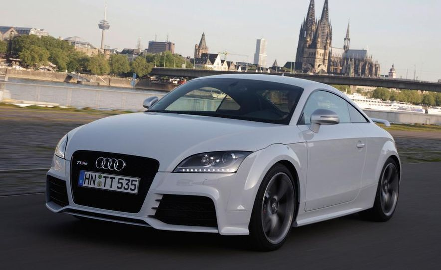 2012 Audi TT RS coupe (European spec) - Slide 11
