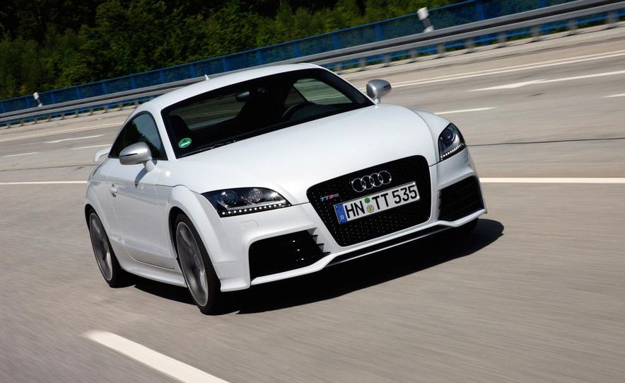 2012 Audi TT RS coupe (European spec) - Slide 13