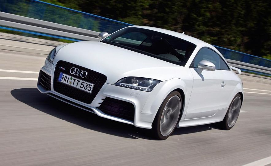 2012 Audi TT RS coupe (European spec) - Slide 14