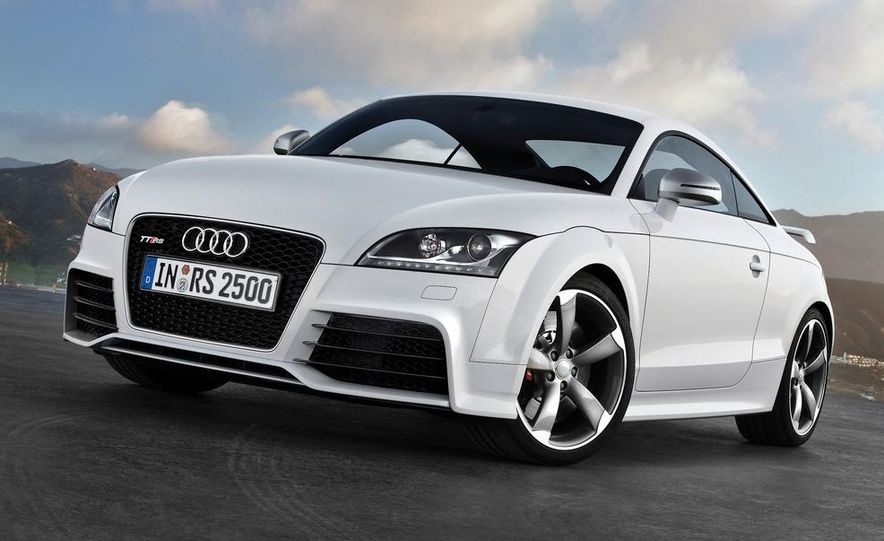 2012 Audi TT RS coupe (European spec) - Slide 19