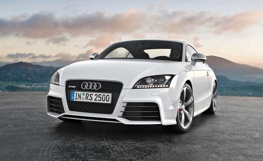 2012 Audi TT RS coupe (European spec) - Slide 20