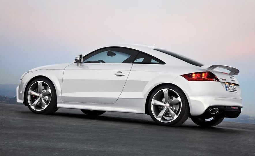 2012 Audi TT RS coupe (European spec) - Slide 22