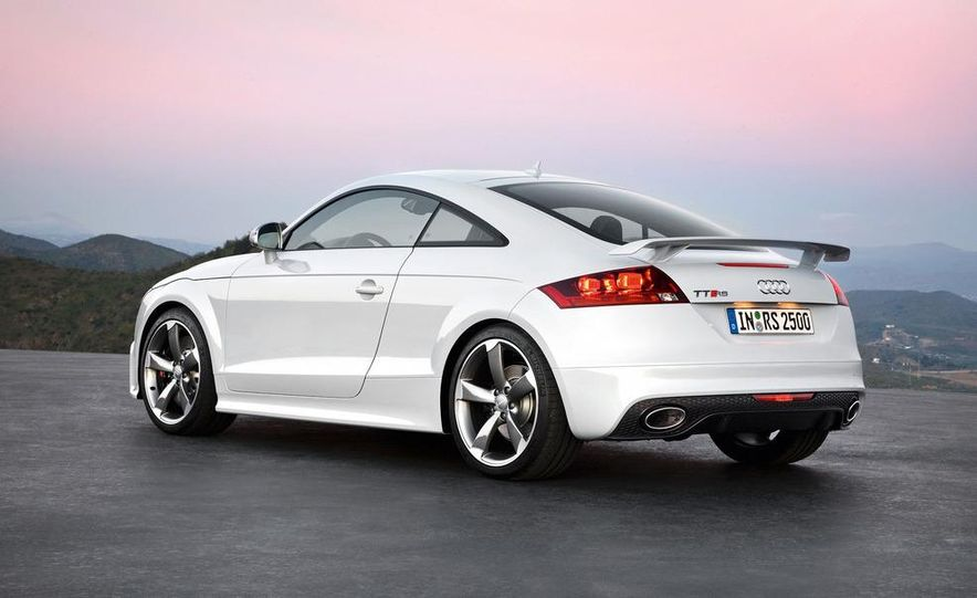 2012 Audi TT RS coupe (European spec) - Slide 23