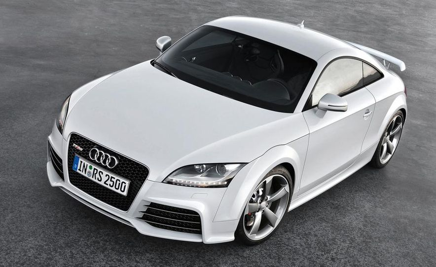2012 Audi TT RS coupe (European spec) - Slide 25