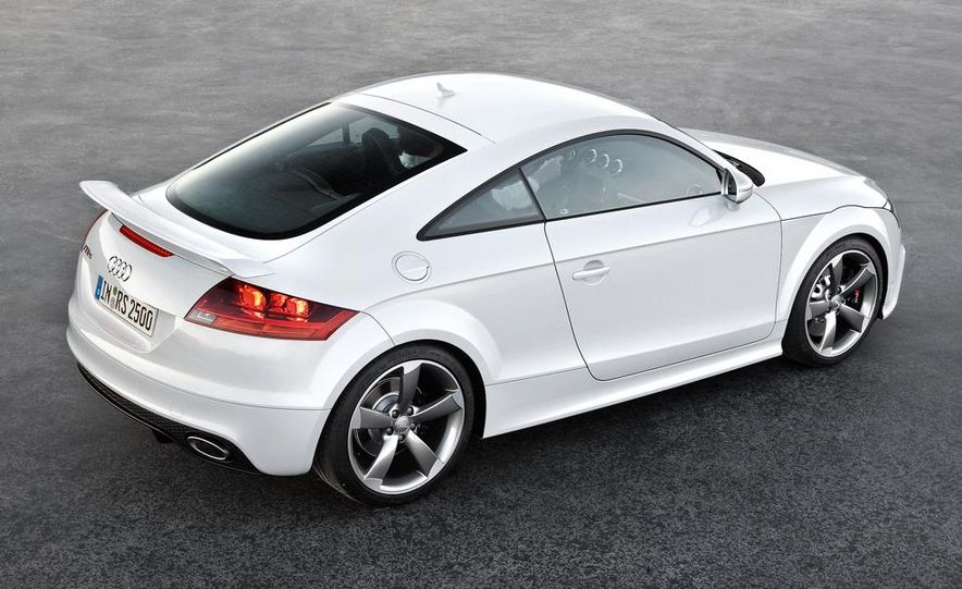 2012 Audi TT RS coupe (European spec) - Slide 26