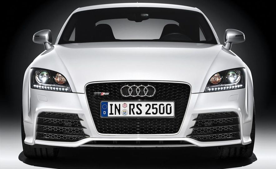 2012 Audi TT RS coupe (European spec) - Slide 29