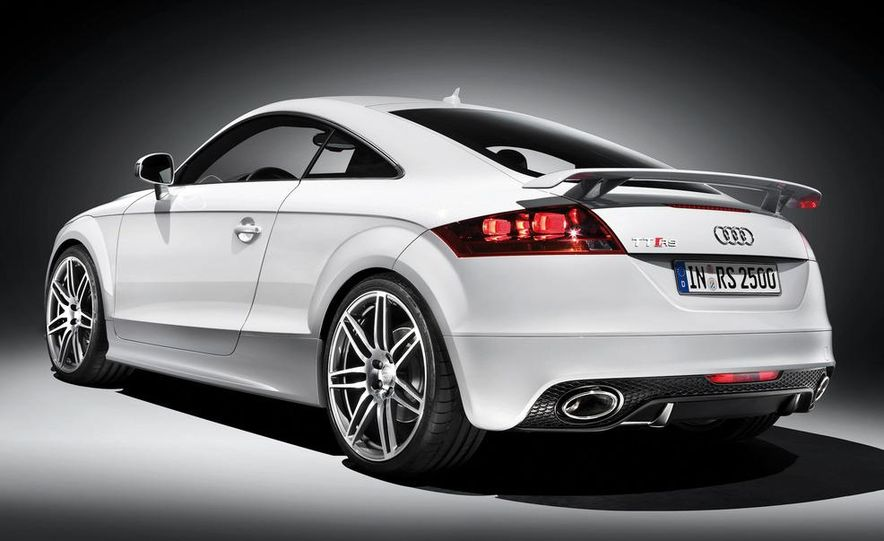 2012 Audi TT RS coupe (European spec) - Slide 30
