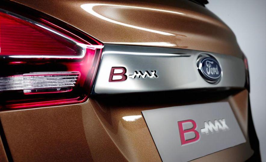 Ford B-Max concept - Slide 26