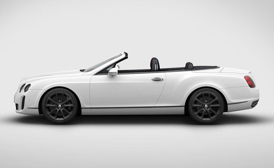 2011 Bentley Continental Supersports convertible ISR Edition - Slide 1
