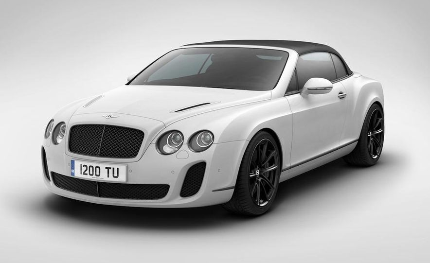 2011 Bentley Continental Supersports convertible ISR Edition - Slide 3