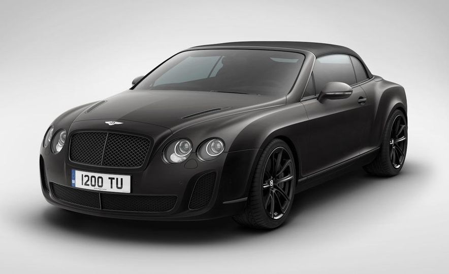 2011 Bentley Continental Supersports convertible ISR Edition - Slide 4