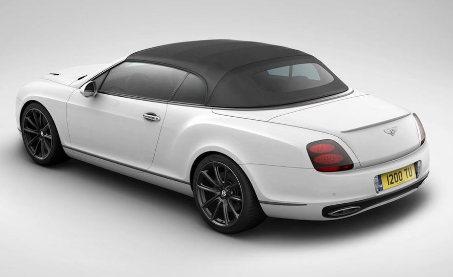 2011 Bentley Continental Supersports convertible ISR Edition - Slide 6