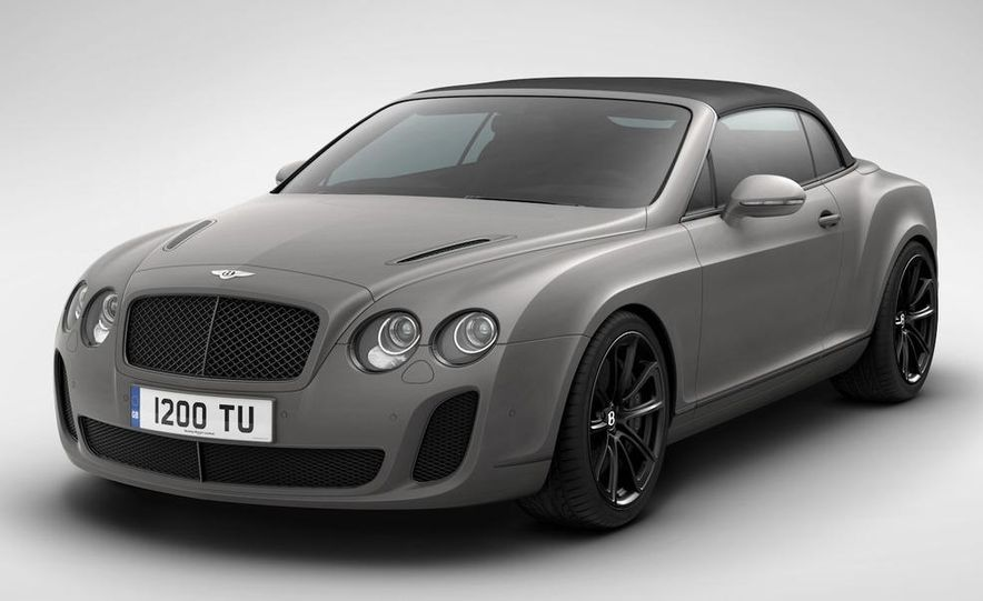 2011 Bentley Continental Supersports convertible ISR Edition - Slide 7