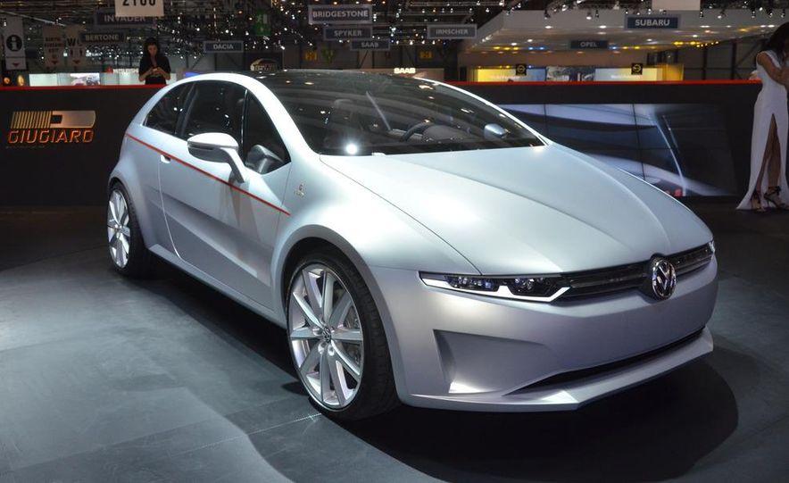 Italdesign Giugiaro / Volkswagen Tex concept - Slide 5