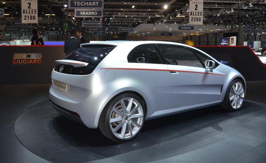 Italdesign Giugiaro / Volkswagen Tex concept - Slide 6